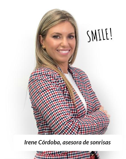 Irene Córdoba, asesora de sonrisas
