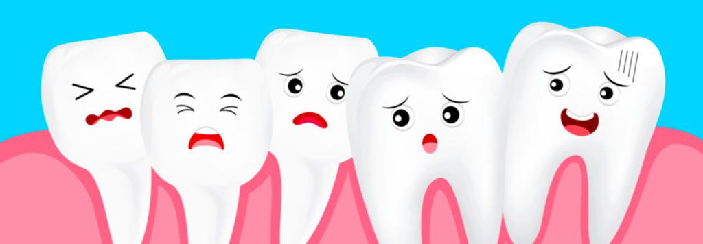 Problemas de los dientes desalineados